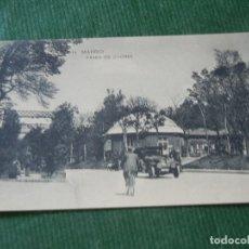Postales: MADRID. PASEO DE COCHES - PARQUE DEL RETIRO - HAUSER Y MENET NUM 14. Lote 93703270