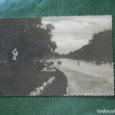 Postales: MADRID. PASEO DE COCHES DEL PARQUE DEL RETIRO - NUM. 37. Lote 93703435