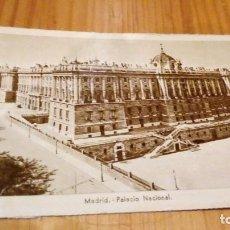 Postales: MADRID PALACIO NACIONAL. Lote 93927630