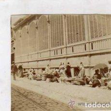 Postales: MADRID FOTOGRAFIA 9 X 8,50 CM. MERCADO DE MADRID. . Lote 94128705