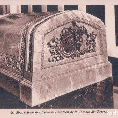 Postales: POSTAL MONASTERIO DEL ESCORIAL 14 - PATEON DE LA INFANTA Mª TERESA - ROISIN. Lote 94629631