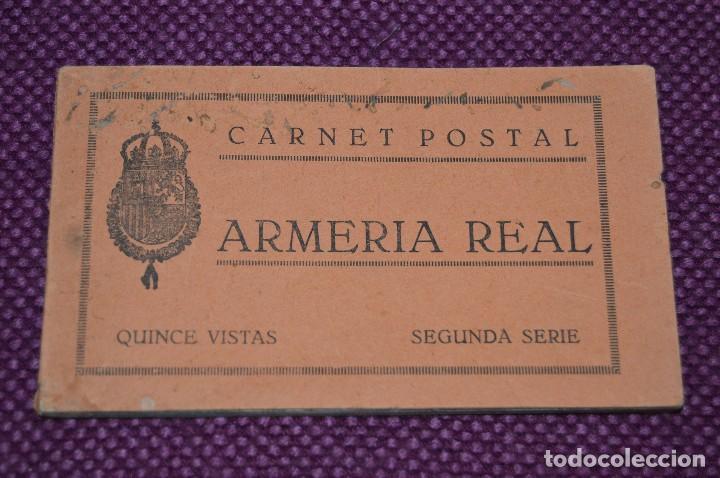 ANTIGUO BLOC / 15 POSTALES SIN CIRCULAR - ARMERÍA REAL -- MADRID DE PRINCIPIO SIGLO -- ¡MIRA! (Postales - España - Madrid Moderna (desde 1940))