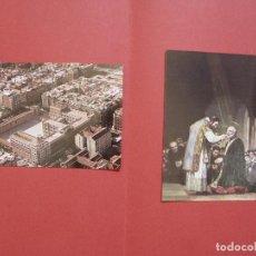 Postales: 2 TARJETAS POSTALES: COLEGIO CALASANCIO (MADRID) Y JOSÉ DE CALASANZ (1970-80'S) ORIGINALES COLECCIÓN. Lote 94862759