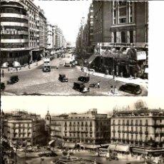 Postales: DOS POSTALES DE MADRID AÑOS 50. Lote 95050567