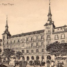 Postales: MADRID.- PLAZA MAYOR, SIN CIRCULAR.ALB.0.-POST.-91, JMOLINA1946. Lote 95210415