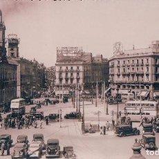 Postales: POSTAL MADRID 11 - PUERTA DEL SOL - MOLINA - COCHES EPOCA - SELLOS A EL REVERSO. Lote 96137303