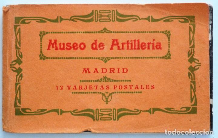 JUEGO 12 POSTALES MUSEO DE ARTILLERÍA, MADRID - HAUSER Y MENET (Postales - España - Comunidad de Madrid Antigua (hasta 1939))