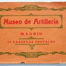 Postales: JUEGO 12 POSTALES MUSEO DE ARTILLERÍA, MADRID - HAUSER Y MENET. Lote 96689743