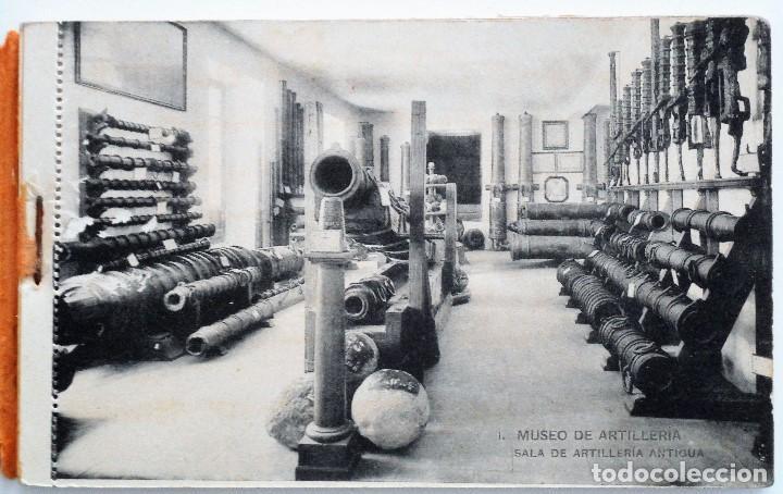 Postales: JUEGO 12 POSTALES MUSEO DE ARTILLERÍA, MADRID - HAUSER Y MENET - Foto 2 - 96689743