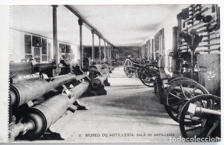Postales: JUEGO 12 POSTALES MUSEO DE ARTILLERÍA, MADRID - HAUSER Y MENET - Foto 3 - 96689743