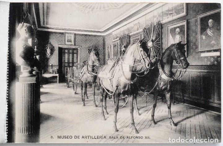 Postales: JUEGO 12 POSTALES MUSEO DE ARTILLERÍA, MADRID - HAUSER Y MENET - Foto 4 - 96689743