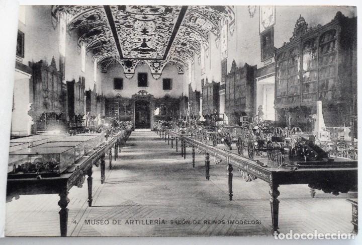 Postales: JUEGO 12 POSTALES MUSEO DE ARTILLERÍA, MADRID - HAUSER Y MENET - Foto 5 - 96689743