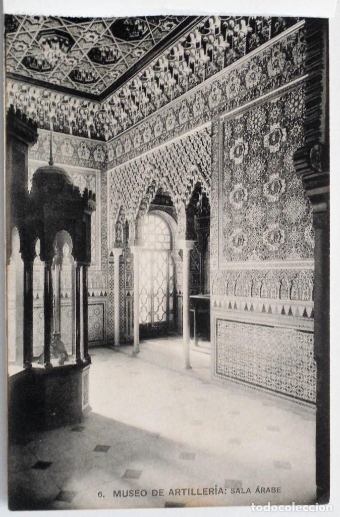 Postales: JUEGO 12 POSTALES MUSEO DE ARTILLERÍA, MADRID - HAUSER Y MENET - Foto 7 - 96689743