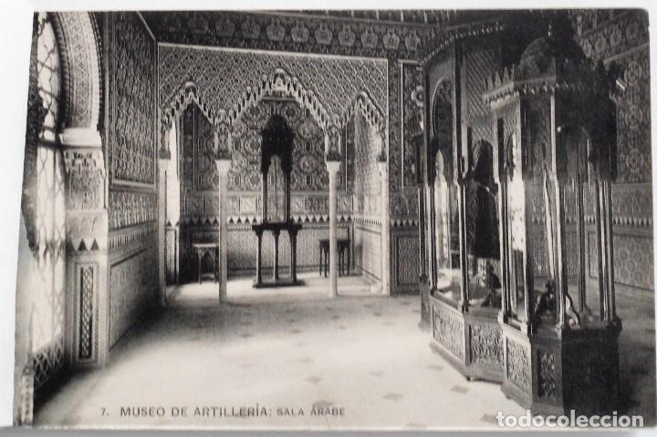 Postales: JUEGO 12 POSTALES MUSEO DE ARTILLERÍA, MADRID - HAUSER Y MENET - Foto 8 - 96689743
