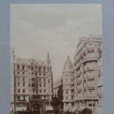 Postales: MADRID. RED DE SAN LUIS. ANIMADA CON TRANVÍAS.. Lote 96794699