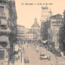 Postales: MADRID.- CALLE DE SEVILLA. Lote 97117207