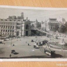 Postales: ANTIGUA POSTAL PLAZA DE CIBELES MADRID. Lote 97352923