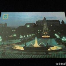 Postales: MADRID PLAZA DE ESPAÑA NOCTURNO ED DOMINGUEZ. Lote 97496151