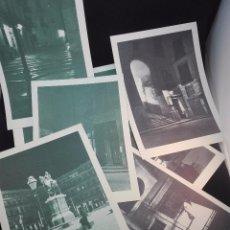 Postales: LOTE DE 8 FOLLETOS DE BELLOS RINCONES DE MADRID FOTOGRAFIADOS EN EL SILENCIO DE LA NOCHE -. Lote 97861795