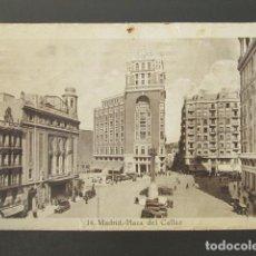Postales: POSTAL MADRID. PLAZA DEL CALLAO. CIRCULADA. . Lote 98828315