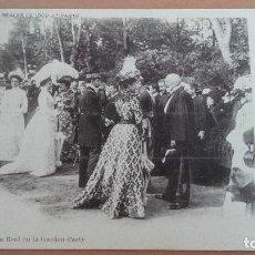 Postales: POSTAL MADRID Nº 9 FIESTAS REALES DE 1902 FAMILIA REAL EN LA GARDEN PARTY FOT. LAURENT ALFONSO XIII. Lote 98963795