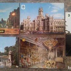 Postales: POSTAL LOTE DE CINCO POSTALES DE MADRID. Lote 99141955