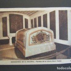 Postales: POSTAL MADRID. MONASTERIO DE EL ESCORIAL. PANTEÓN DE LA INFANTA MARÍA TERESA. . Lote 99429111