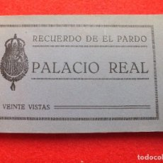 Postales: MADRID PALACIO REAL EL PARDO ANTIGUO ALBUM POSTALES FACHADA TAPICES .. GRAFOS. Lote 99472335