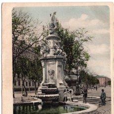 Postales: MADRID - FUENTE DE LAS CUATRO ESTACIONES. DR TRENKLER CO. LEIPZIG - BARCELONA. Lote 99765551
