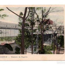 Postales: MADRID - VIADUCTO DE SEGOVIA. DR TRENKLER CO. LEIPZIG - BARCELONA. Lote 99765731