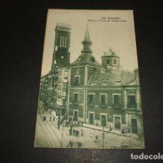Postales: MADRID PLAZA Y TORRE DE SANTA CRUZ. Lote 99860303