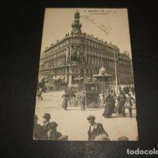 Postales: MADRID LA EQUITATIVA. Lote 99860927