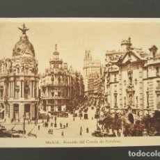Postales: POSTAL MADRID. AVENIDA DEL CONDE DE PEÑALVER. . Lote 99962427
