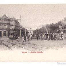Postales: POSTAL MADRID - PLAZA DE CASTELAR. UNION POSTAL UNIVERSAL. Lote 100172063