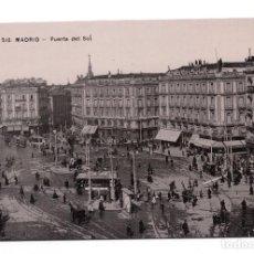 Postales: POSTAL DE MADRID - PUERTA DEL SOL. ACABADO FOTOGRÁFICO. Lote 100176471