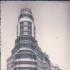 Cartes Postales: POSTAL MADRID - EL CAPITOL Y GRAN VIA - ARRIBAS - ESCRITA. Lote 100293675