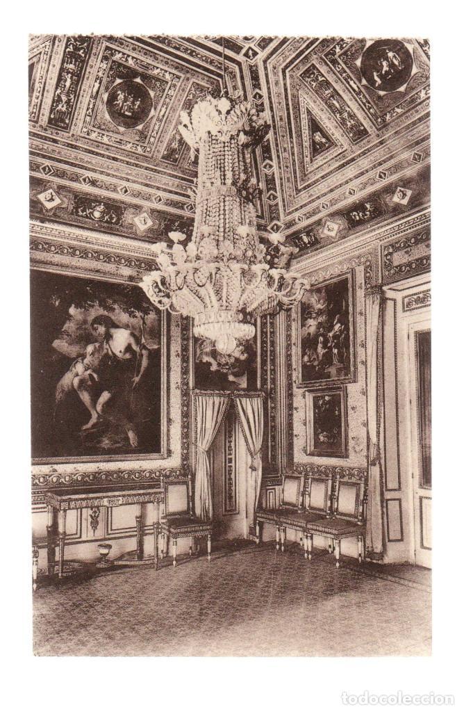 ANTIGUA POSTAL - MADRID - EL ESCORIAL - CASITA DEL PRÍNCIPE - VESTÍBULO (Postales - España - Comunidad de Madrid Antigua (hasta 1939))
