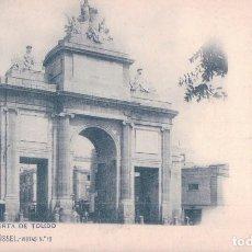 Postales: POSTAL DE MADRID: PUERTA DE TOLEDO (COL.ROMO Y FUSSEL NUM.15). Lote 100364295