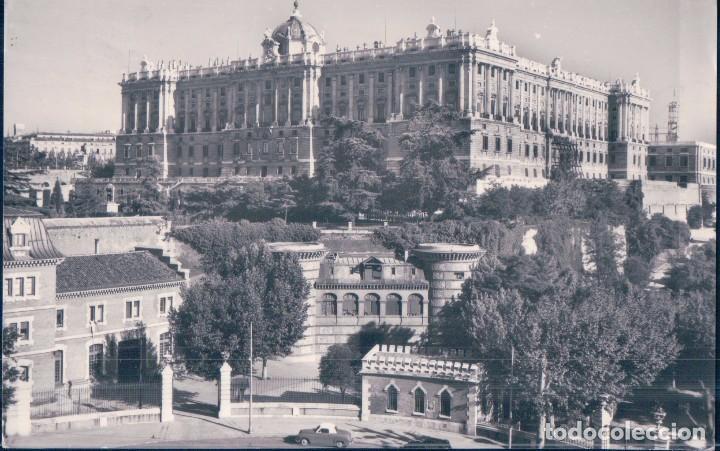 Postal Palacio Real Madrid Foto Dominguez Nº 46 Circulada Compartir Lote