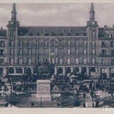 Postales: POSTAL FOTOGRAFICA MADRID - PLAZA MAYOR - MUY ANIMADA -VER DETALLES - 10. Lote 100365267