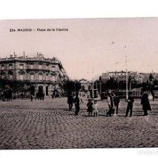 Postales: MADRID.- PLAZA DE CIBELES. UNION POSTAL UNIVERSAL. Lote 100543675