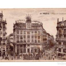 Postales: MADRID.- PLAZA DE CANALEJAS. MÁRGARA. Lote 100626527