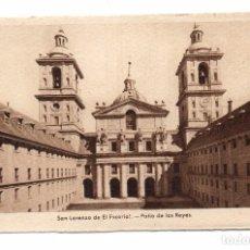 Postales: ANTIGUA POSTAL - MADRID - EL ESCORIAL - SAN LORENZO DE EL ESCORIAL - PATIO DE LOS REYES . Lote 101296459