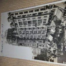 Postales: POSTAL MADRID .GRAN VIA.PALACIO DE LA PRENSA.N°26.AÑO1933.CIRCULADA.. Lote 101374999
