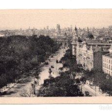 Postales: MADRID.- CALLE DE ALCALÁ DESDE ESCUELAS AGUIRRE. FOTOTIPIA HAUSER Y MENET. SIN CIRCULAR. Lote 101523823