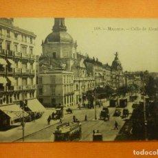 Postales: POSTAL - ESPAÑA - MADRID - 168.- CALLE DE ALCALÁ - FOT. LACOSTE - NE - NC. Lote 101580831