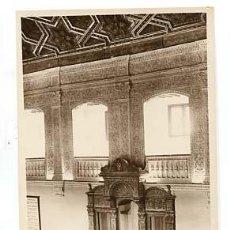 Postales: MADRID ALCALA DE HENARES UNIVERSIDAD COMPLUTENSE, PARANINFO. POSTAL FOTOGRÁFICA. ED LA BOLA DE ORO. Lote 101630975