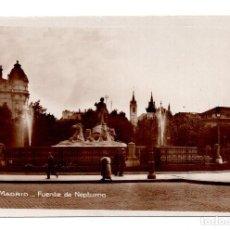 Postales: MADRID.- FUENTE DE NEPTUNO. CALIDAD FOTOGRÁFICA. Lote 101654355