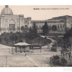 Postales: MADRID.- PALACIO DE LA INDUSTRIA Y DE LAS ARTES. FOT. LACOSTE.. Lote 101654695