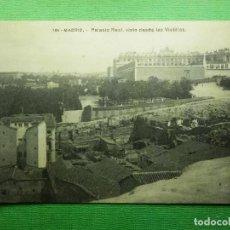 Postales: POSTAL - ESPAÑA - MADRID - 185.- PALACIO REAL VISTO DESDE LAS VISTILLAS - FOT. LACOSTE - NE - NC. Lote 101659219